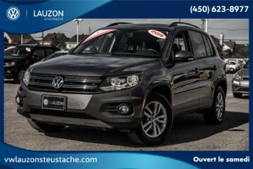 Volkswagen Tiguan Trendline+4Motion+BAS KM+A/C+Bluetooth 2015