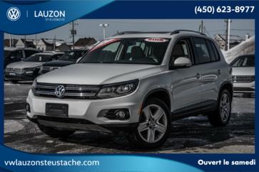 Volkswagen Tiguan Comfortline 4Motion+Cuir+Toit+Camera Recul 2015