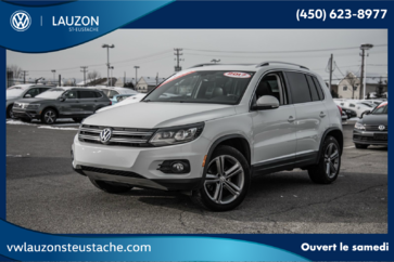 Volkswagen Tiguan Highline+4Motion+Cuir+Toit Panoramique+BAS KM 2017