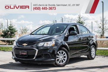 Chevrolet Sonic LT MAGS CAMÉRA A/C ULTRA CLEAN 2018