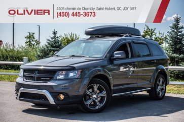 Dodge Journey Crossroad AWD MAGS HITCH CUIR CAMÉRA A/C 2014