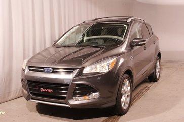 Ford Escape Titanium TOIT PANO NAV CAMÉRA CUIR A/C 2016
