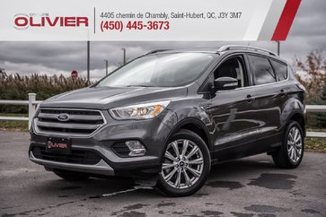2017 Ford Escape Titanium CUIR+NAV+CAMERA+B. CHAUFFANTS+TOIT