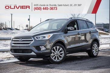 2018 Ford Escape Titanium 4WD CUIR TOIT PANO A/C