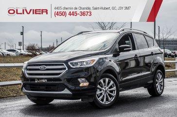Ford Escape Titanium CUIR TOIT NAV CAMÉRA GR. ÉLECT. A/C 2018