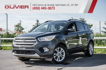 Ford Escape SEL 4WD CUIR TOIT PANO NAV CAMÉRA BLUETOOTH A/C 2018