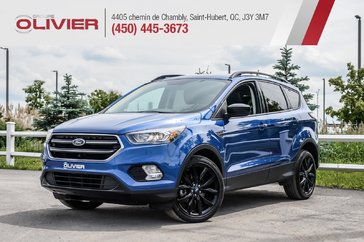 2018 Ford Escape SE 4WD CUIR MAGS CAMÉRA BLUETOOTH A/C