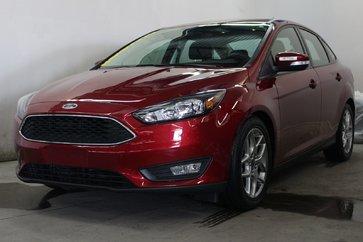 2016 Ford Focus SE;1 seul proprio; camera de recul