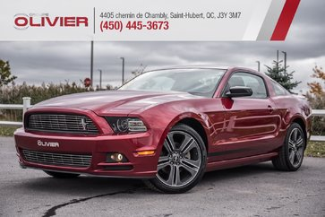 2014 Ford Mustang COUPE PREMIUM CUIR CAMÉRA MAGS A/C