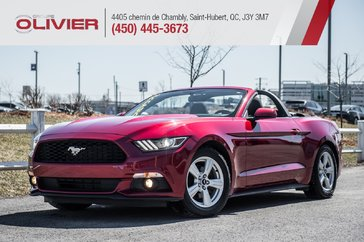 Ford Mustang V6 CONVERTIBLE MAGS CAMÉRA BLUETOOTH A/C 2015