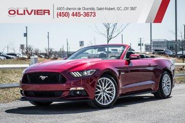 Ford Mustang GT Premium CONVERTIBLE MAGS CUIR NAV CAMÉRA A/C 2016