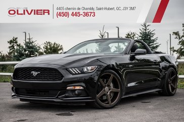 Ford Mustang PREMIUM / CABRIOLET + 400HP + EXHAUST BORLA + MAGS 2017