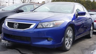 Honda Accord Cpe EX-L-VENDU TEL QUEL-CARPROOF DE $17871. FEV 2011 2010