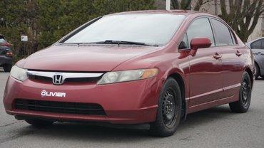 Honda Civic Sdn POUR PETIT BUDGET-VENDU TEL QUEL 2008