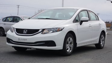 Honda Civic Sedan LX-BLUETOOTH-A/C-GR.ÉLECTRIQUE-JAMAIS ACCIDENTÉ 2015