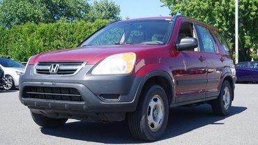 Honda CR-V LX-AWD-GR.ÉLECTRIQUE-CRUISE-CD- 2004