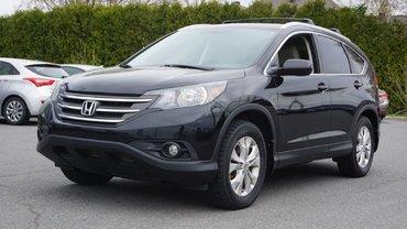 Honda CR-V EX-L-AWD-CUIR-CAMÉRA-TOIT OUVRANT 2014