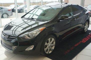 Hyundai Elantra LIMITED-CUIR-TOIT-MAG-SIEGE CHAUFFANT 2013