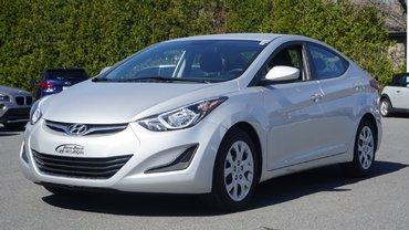 Hyundai Elantra GL-TRÈS BAS KILO-BLUETOOTH-UN SEUL PROPRIO- 2015