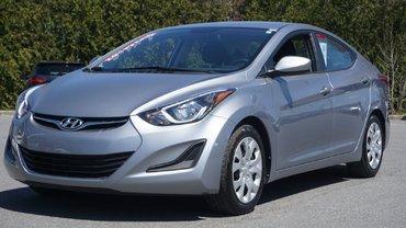 Hyundai Elantra GL-TRÈS BAS KILO-JAMAIS ACCIDENTÉ-BLUETOOTH 2015