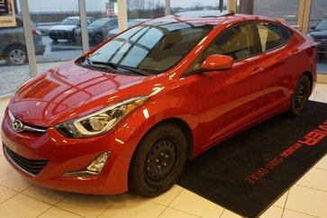 Hyundai Elantra GLS-TOIT OUVRANT-CAMéRA-MAG-BLUETOOTH-CRUISE 2016