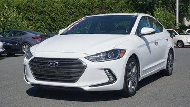Hyundai Elantra Limited-NAVIGATION-CUIR-BLUETOOTH-BAS KILO- 2017