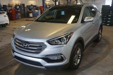 Hyundai Santa Fe Sport SE-AWD-CUIR-TOIT PANO-BLUETOOT-JAMAIS ACCIDENTÉ 2017