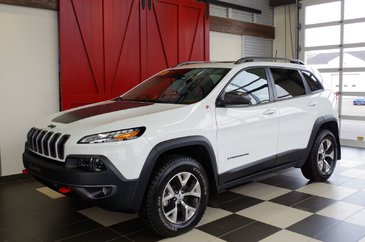 Jeep Cherokee Trailhawk,TOIT OUVRANT, BLUETOOTH,CUIR 2016