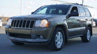 Jeep Grand Cherokee LAREDO-DIESEL-BAS KILO-TURBO NEUF-UN SEUL PROPRIO 2008