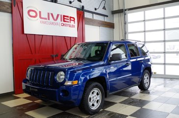 Jeep Patriot SPORT FWD, CLIMATISATION, ATTACHE REMORQUE 2009