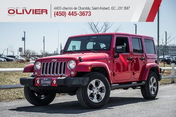 Jeep WRANGLER JK UNLIMITED Sahara UNLIMITED 4X4 MAGS NAV A/C 2018