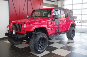 Jeep Wrangler Unlimited Sahara 2 TOITS, MAGS,A/C 2013