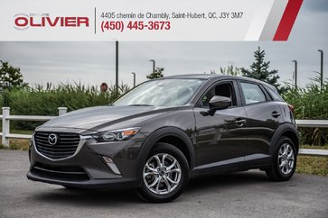 Mazda CX-3 GS AWD MAGS CAMÉRA BLUETOOTH A/C 2018