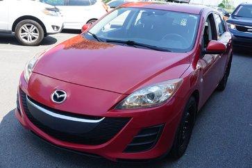 Mazda Mazda3 GX-AC-FREINS NEUF 4 ROUES-GR.ÉLECTRIQUE-BAS KILO 2010