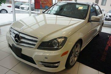 Mercedes-Benz C-Class C 300-4 MATIC-AWD-CUIR TOIT PANO- 2012