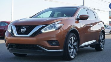Nissan Murano SL-PLATINUM-AWD-NAV-TOUT ÉQUIPÉ-TOIT PANO 2015