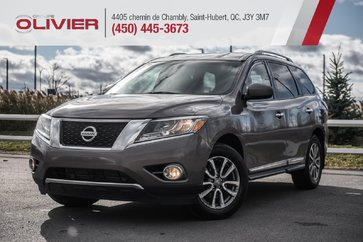 2014 Nissan Pathfinder SL AWD+HITCH+CUIR+CAMERA+S. CHAUFFANTS