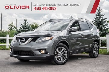 Nissan Rogue S AWD MAGS CUIR TOIT HITCH A/C 2014