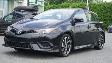 Toyota Corolla iM BLUETOOTH-CRUZ-A/C-CAMÉRA-MAG-JAMAIS ACCIDENTÉ 2018