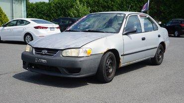 Toyota Corolla POUR PETIT BUDGET-RECONSTRUIT-VENDU TEL QUEL 2001