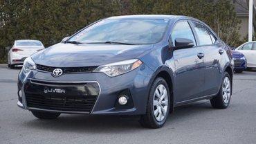 Toyota Corolla CAMÉRA-BLUETOOTH-A/C-UN SEUL PROPRIO 2014