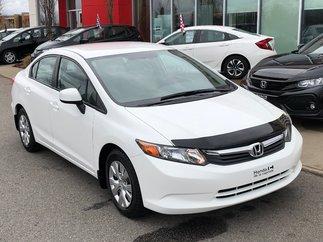 Honda Civic Sdn LX AUTOMATIQUE 2012