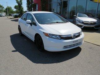 Honda Civic Sdn LX MANUELLE 2012