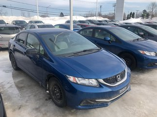 Honda Civic Sedan DX MANUELLE 2014