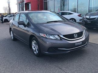 Honda Civic Sedan LX AUTOMATIQUE 2014