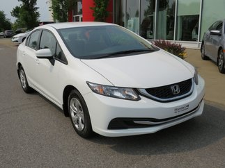 Honda Civic Sedan LX MANUELLE 2015