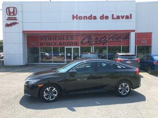 Honda Civic LX  CERTIFIE 2016
