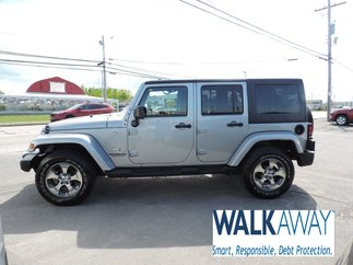 2017 Jeep Wrangler Unlimited $290 B/W TAX INC.