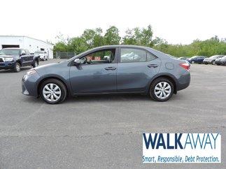 2015 Toyota Corolla LE $126 BI-WEEKLY