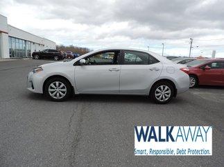 2016 Toyota Corolla S $142 BI-WEEKLY